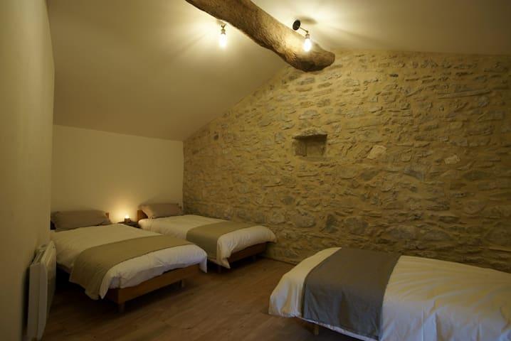 La chambre 3 lits