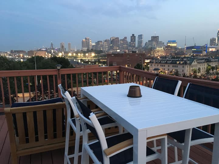 3+ Month Boston Rental with Skyline Views