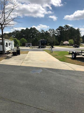 Gated RV Resort Site in Beautiful Athens, GA