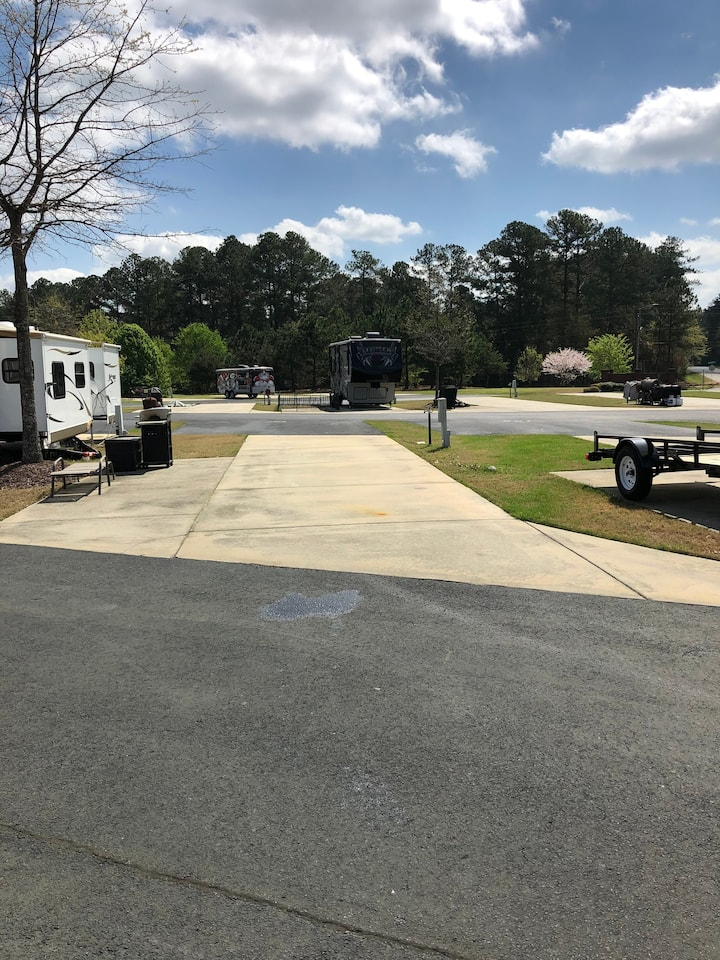 Gated RV Resort Site in Beautiful Athens, GA