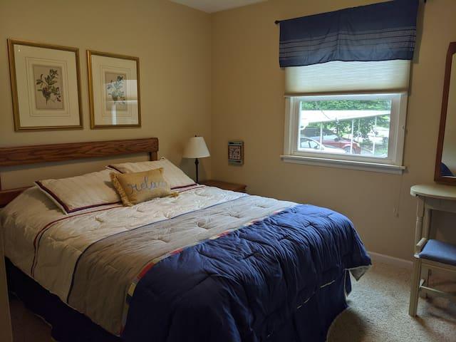 Queen pillow top bed