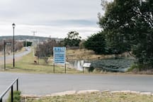 Lake Dulverton and Oatlands Tasmania streetscape