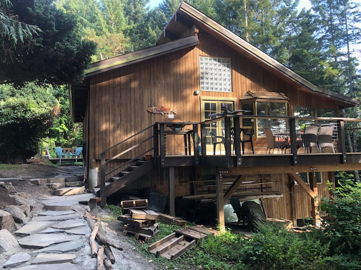 Boulder Cottage: treehouse feeling!
