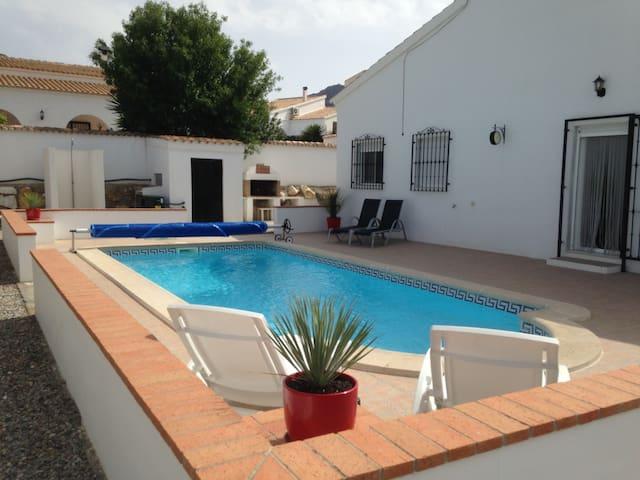 Casa bonita, rust in Andalusië .