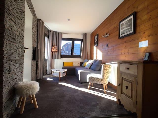 T3 design 2 chambres AVORIAZ résidence DOUCHKA