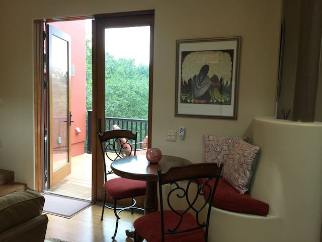 Casita opens up to private deck