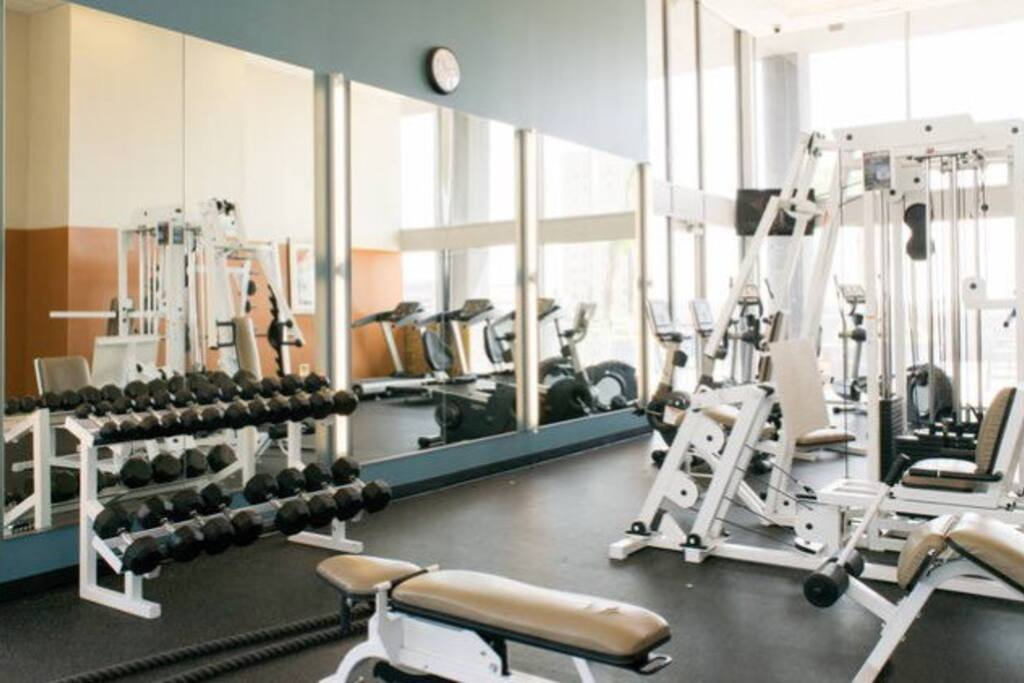 This gym is awesome! No gym membership needed!