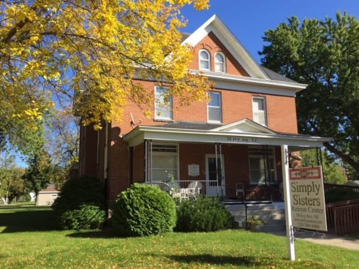 Historic brick three story home - small town life