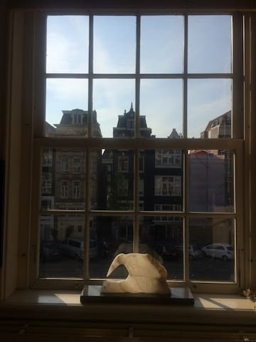 Authentic historic apartment old city centre - Amsterdam - Apartament
