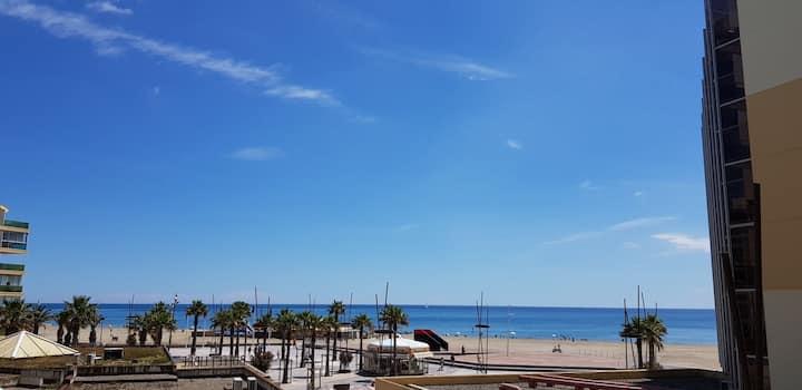 Location de vacance t2bis vue mer avec piscine