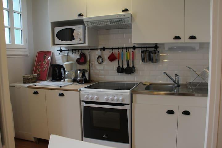 cuisine avec lave-linge