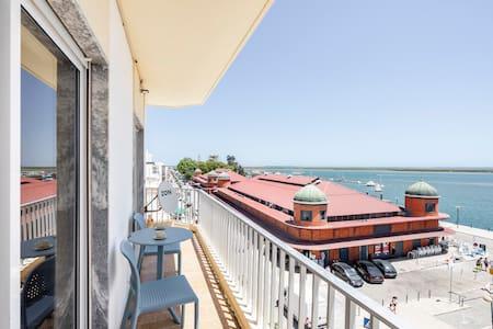Casa Francelina - centro de Olhão, vista magnífica