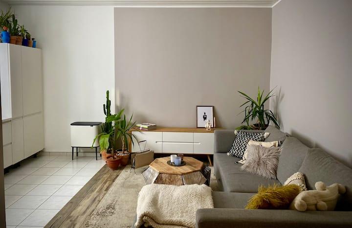 Moderne, gemütliche 2 Zimmer-Wohnung in der City.