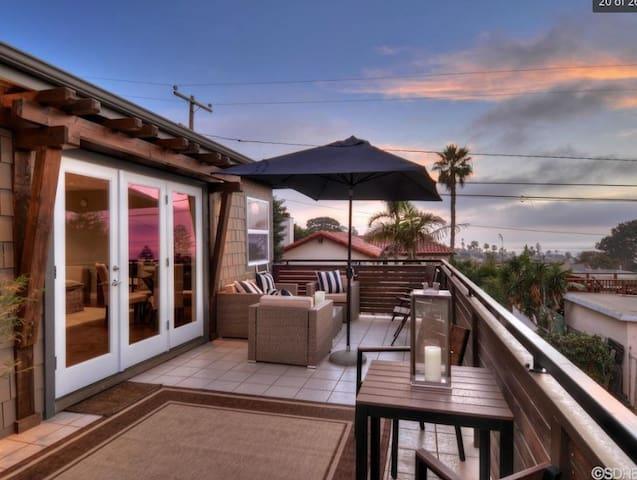 Oceanview serenity in Sunset Cliffs - San Diego - Haus