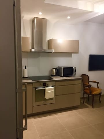 Nice open equipped kitchen