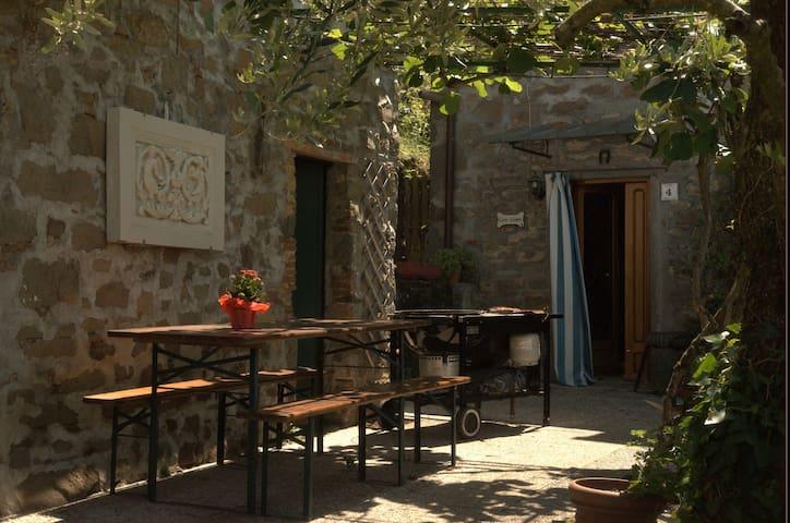 Medieval Tuscan Village Home - Benabbio