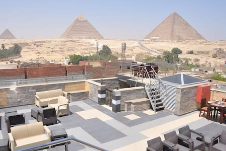 Magic Pyramids view hotel rooms 30$ - Al Haram