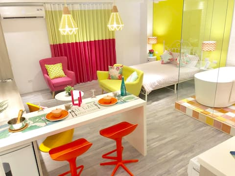 DorisCC Design Studio Washer/Dryer/TV