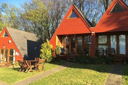 Wooden seaside chalet near Deal - Kingsdown - Dağ Evi