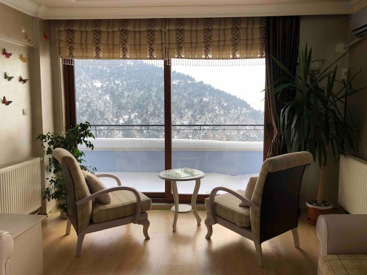 Manzaralı Daire - Nature and City View Apartment