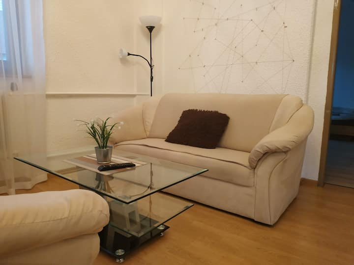 All you need in Decin II-5 bed apart-cycling trail