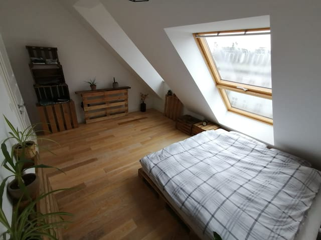 Room in Large Loft Apartment 360° Views of Berlin