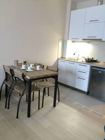 Studio Apartment near Didveli skiing slopes - Bakuriani - Byt se službami (podobně jako v hotelu)