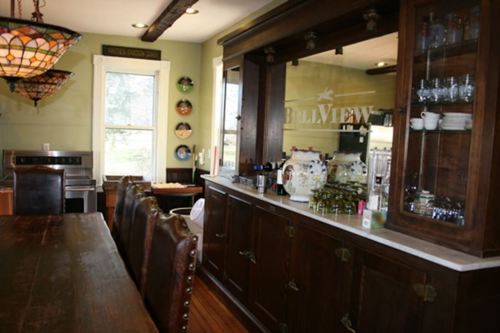 Fabulous country kitchen. www.saratogaluxuryrentals.com