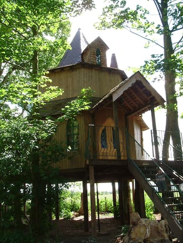 Treehouse set within the ancient grounds of Fernie