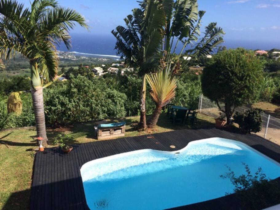 piscine avec vue panoramique