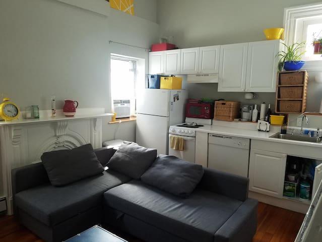 ☮Perfect Central Location! Boston South End Studio