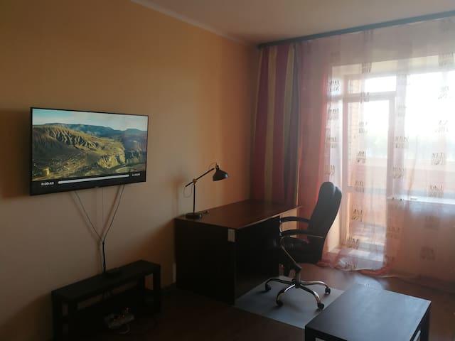 Просторная квартира 50 кв. м. в Академгородке