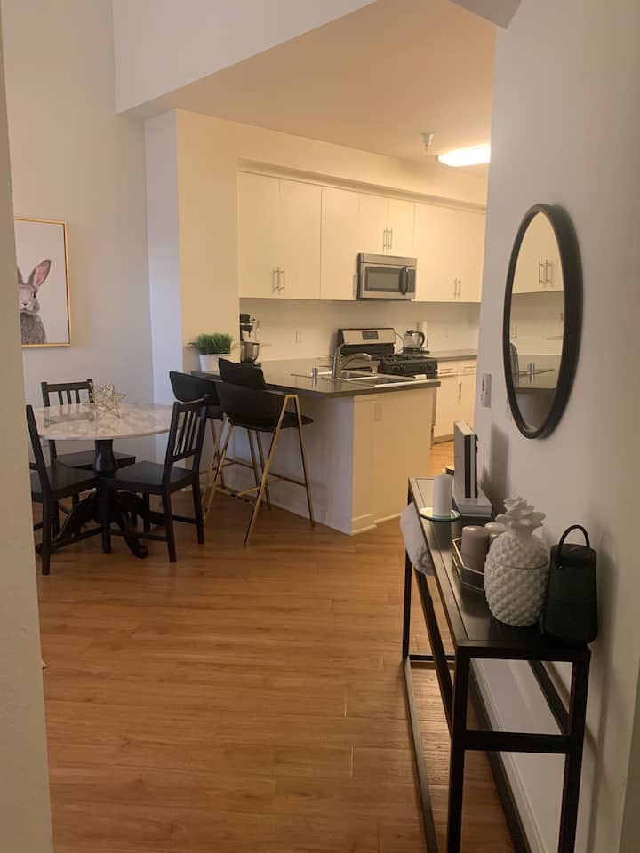 Quiet and clean loft apartment with all amenities