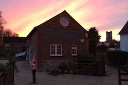 The Barn at Myrtle Cottage - Aldbourne - Hus