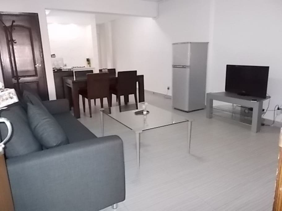 Living area view