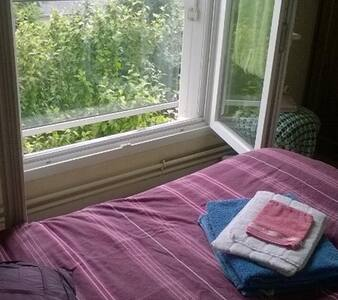 Chambre privée dans maison calme et conviviale - Parçay-Meslay