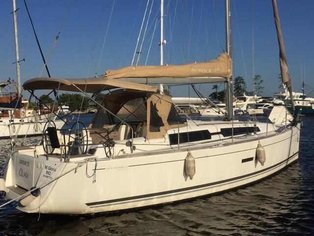 Sailing Boat Dufour 375, Marina da Glória, RJ
