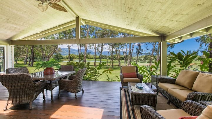 'Hale Mahina -  Spectacular Lakeside, Fairway Home