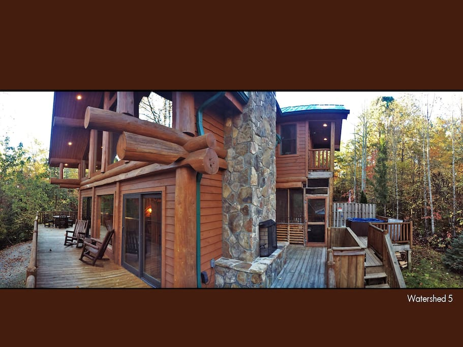 Watershed 05 Cabins For Rent In Bryson City North