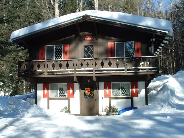 Cozy Vermont Chalet - Londonderry - Casa