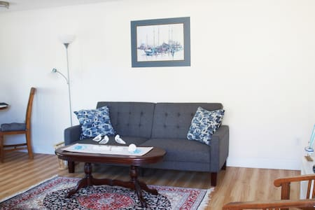 Newly Renovated 1 BR Downtown Apartment By Harbor