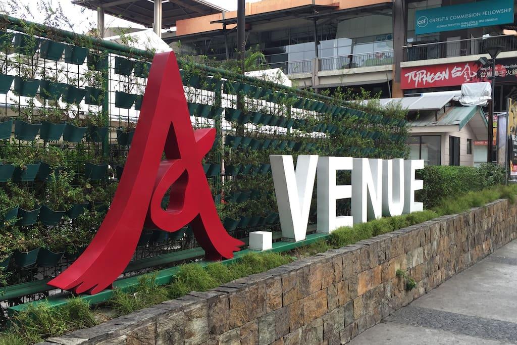 Makati Avenue Entrance