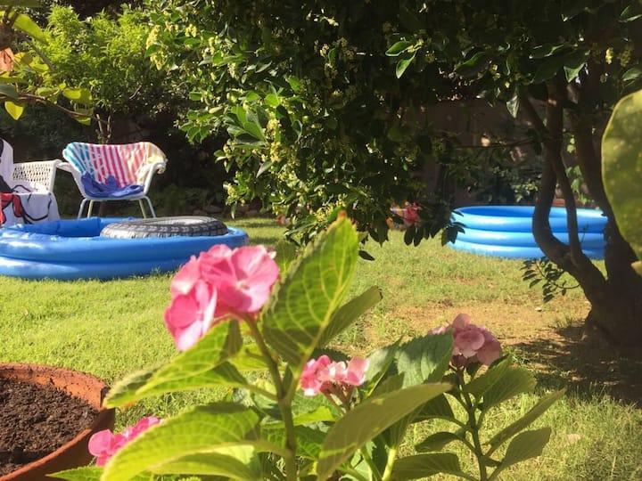 Antica casa con giardino - Casa Terra - iun P7085
