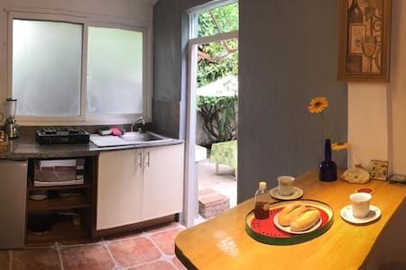 THE SWINGS - Mini Loft with exclusive garden.