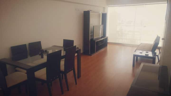 Nice apartment located limit Miraflores,San Isidro