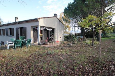 Maison indépendante, vue sur Vercors - Allex