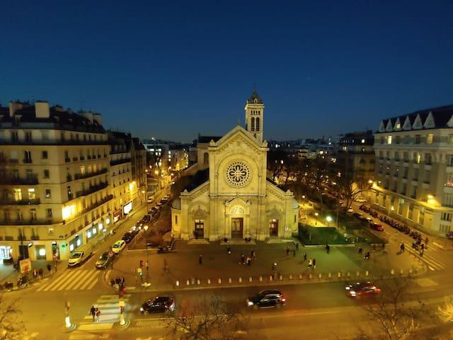 Toit de PARIS/ Rooftop. Montparnasse
