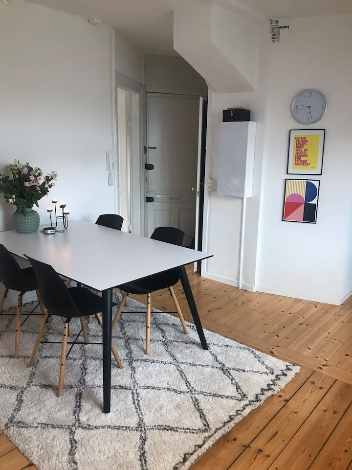 Lovely apartment in the heart of Frederiksberg