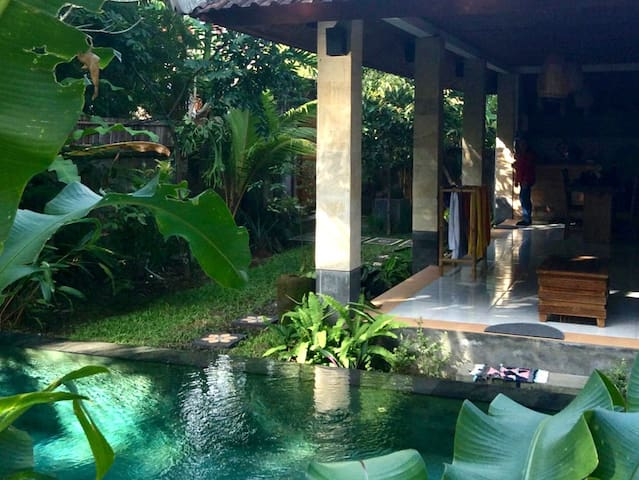 Villa Sejuk, cool quiet oasis with pool near Ubud