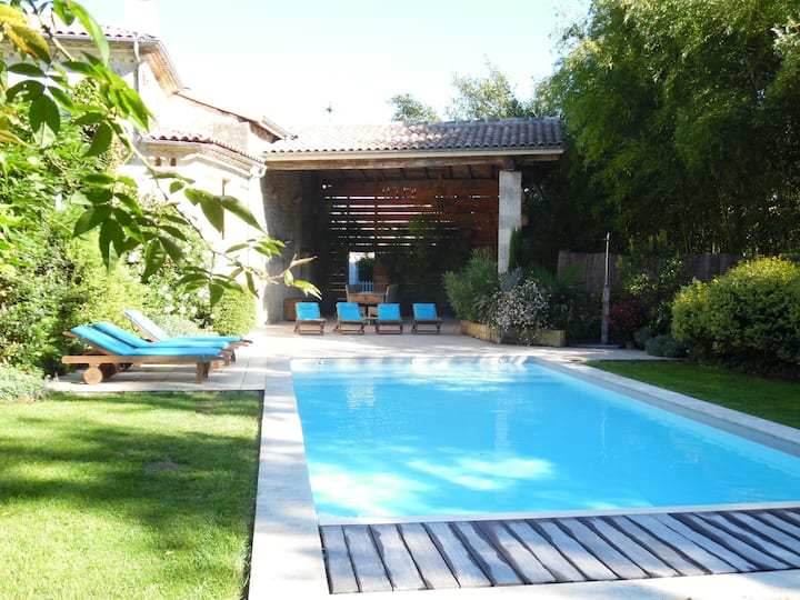 Holiday cottage 30 mn from Bordeaux